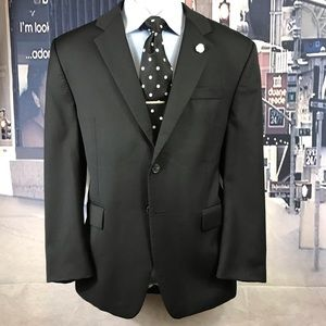 blazer Ralph Lauren black 100% wool size 42 S